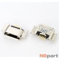 Разъем системный Micro USB - Samsung S7220 (оригинал)