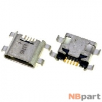 Разъем системный Micro USB - Huawei Honor 5c (NEM-L51) (оригинал) / MC-232