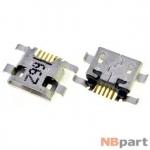 Разъем системный Micro USB - Huawei Honor 6 (h60-l04) (оригинал) / MC-268