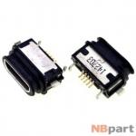 Разъем системный Micro USB - HTC Butterfly 2 (оригинал) / MC-338