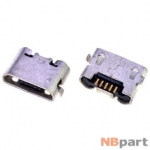 Разъем системный Micro USB - Meizu MX3 M353 (оригинал) / MC-085