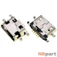 Разъем системный Micro USB - Meizu M5 Note M621H (оригинал) / MC-411
