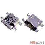 Разъем системный Micro USB - Sony Xperia M2 (D2305) (оригинал) / MC-350