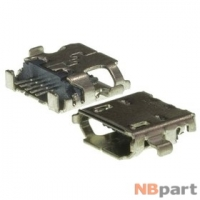 Разъем системный Micro USB - HTC (оригинал) / MC-330