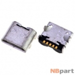 Разъем системный Micro USB - LG Intuition VS950 (оригинал) / MC-345