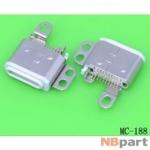 Разъем системный - Apple iPod nano 7 / MC-188 белый