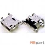 Разъем системный Micro USB - Lenovo A910 (оригинал)