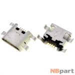 Разъем системный Micro USB - ZTE Blade L2 (оригинал)