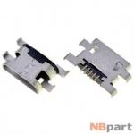 Разъем системный Micro USB - Sony Xperia M (C1904)