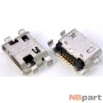 Разъем системный Micro USB - (T001)