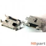 Разъем системный Micro USB - (T002)