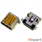 Разъем системный Mini USB - Meizu M9 (оригинал) / MC-414