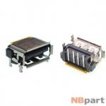 Разъем USB 2.0 / на плате / 10 x10mm / обратный / юбка / Lenovo G550