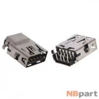 Разъем USB 3.0 / по середине / 16 x13mm / прямой / без юбки / черный Acer Aspire E5-511