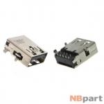 Разъем USB 3.0 / вровень по низу / 15 x11mm / обратный / без юбки / черный (027)