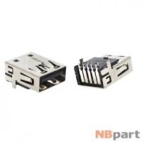Разъем USB 3.0 / на плате / 16 x16mm / обратный / без юбки / черный HP ProBook 4440s