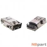 Разъем USB 3.0 / выше середины / 17 x13mm / прямой / без юбки / черный ASUS K53SV