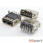 Разъем USB 2.0 / на плате / 14 x14mm / прямой / юбка / Acer Aspire 5340