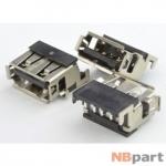 Разъем USB 2.0 / вровень по верху / 14 x11mm / прямой / юбка / HP G62