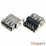 Разъем USB 2.0 / выше середины / 14 x10mm / прямой / юбка / Lenovo IdeaPad Y330