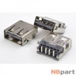 Разъем USB 2.0 / выше середины / 14 x12mm / обратный / без юбки / Asus Eee PC 1015PX