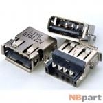 Разъем USB 2.0 / 14 x10mm / обратный / юбка