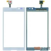 Тачскрин для Sony Xperia C C2305 белый