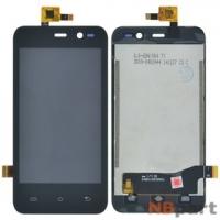 Модуль (дисплей + тачскрин) для ZTE LEO Q1 V765M черный
