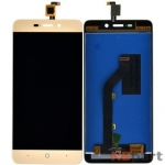 Модуль (дисплей + тачскрин) для ZTE Blade X3 (T620) золото
