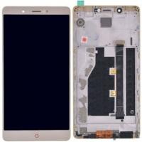 Модуль (дисплей + тачскрин) для ZTE Nubia Z11 Max золото