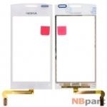 Тачскрин для Nokia 500 белый