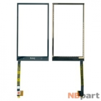 Тачскрин для HTC One M7 801n PN07100 черный