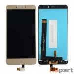 Модуль (дисплей + тачскрин) для Xiaomi Redmi Note 4 золото