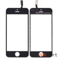 Тачскрин для Apple Iphone 5S черный