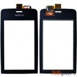 Тачскрин для Nokia Asha 310 черный