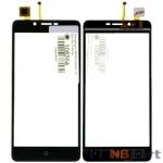 Тачскрин для VERTEX Impress Lion 3G черный