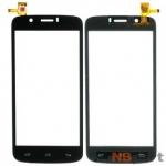 Тачскрин для Prestigio MultiPhone 5504 DUO PSP5504DUO черный