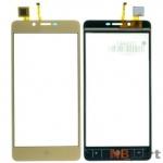Тачскрин для VERTEX Impress Lion 3G золото