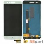 Модуль (дисплей + тачскрин) для ZTE Blade A610 TXDS500SHDPA-318 белый