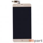 Модуль (дисплей + тачскрин) для ZTE Blade V7 Max золото
