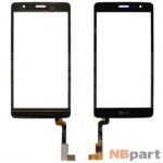 Тачскрин для LG Max X155 черный