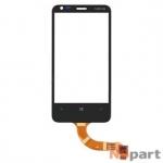 Тачскрин для Nokia Lumia 620 черный (копия)