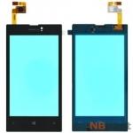 Тачскрин для Nokia Lumia 520 черный