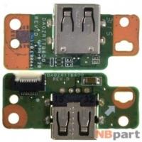 Шлейф / плата Acer Aspire E5-573G DA0ZRTTB6D0 REV:D на USB