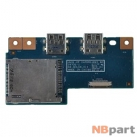 Шлейф / плата Acer Aspire 3830T / 48.4HL04.011 на Card Reader