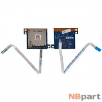 Шлейф / плата Dell Inspiron 15R (5520) (P25F) / QCL00/10 LS-8243P REV:1.0 на Card Reader