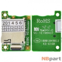 Шлейф / плата Prestigio MultiPad 10.1 ULTIMATE PMP7100D 3G DUO 8209C V2.0 на Card Reader