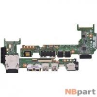 Шлейф / плата Asus Eee PC 1015P / 60-OA29IO1000-D01 на USB