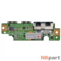 Шлейф / плата MSI EX610 (MS-163d) / MS-16352 VER:0B на USB