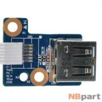 Шлейф / плата HP G62-550EE / DAR22TB16D0 REV:D на USB